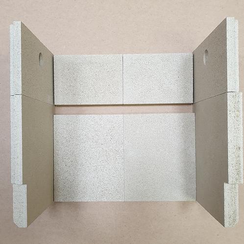 Stovax Riva 40 Spare Stove Bricks
