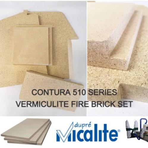 CONTURA 510 SERIES VERMICULITE FIRE BRICK SET