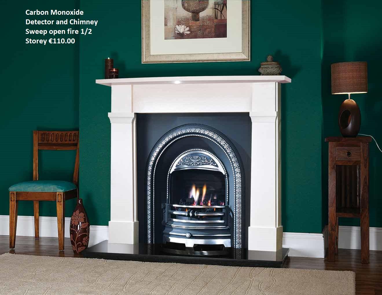 Open Fire & Carbon Monoxide Detector