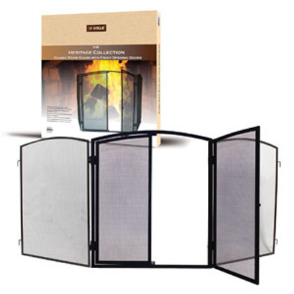 Stove Guard, Fire Guard for stove with front opening door