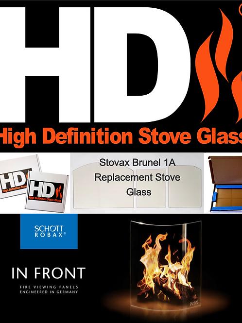 Stovax Brunel 3CB Stove Glass