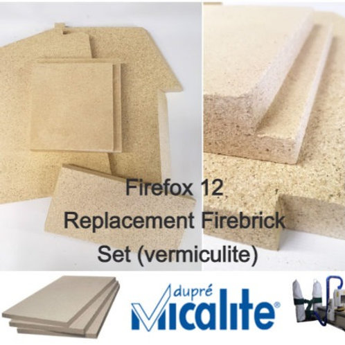 FireFox 12 Replacement Firebrick Set