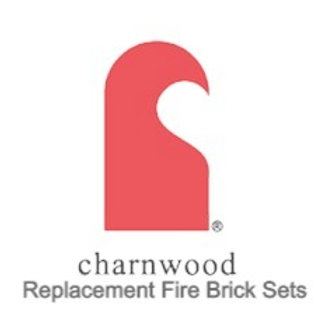 Charnwood  Island 2 Stove Replacement Fire Brick Set (MK1)