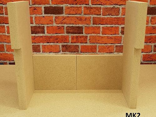 FLAVEL ARUNDEL FIRE BRICK SET (MK2)