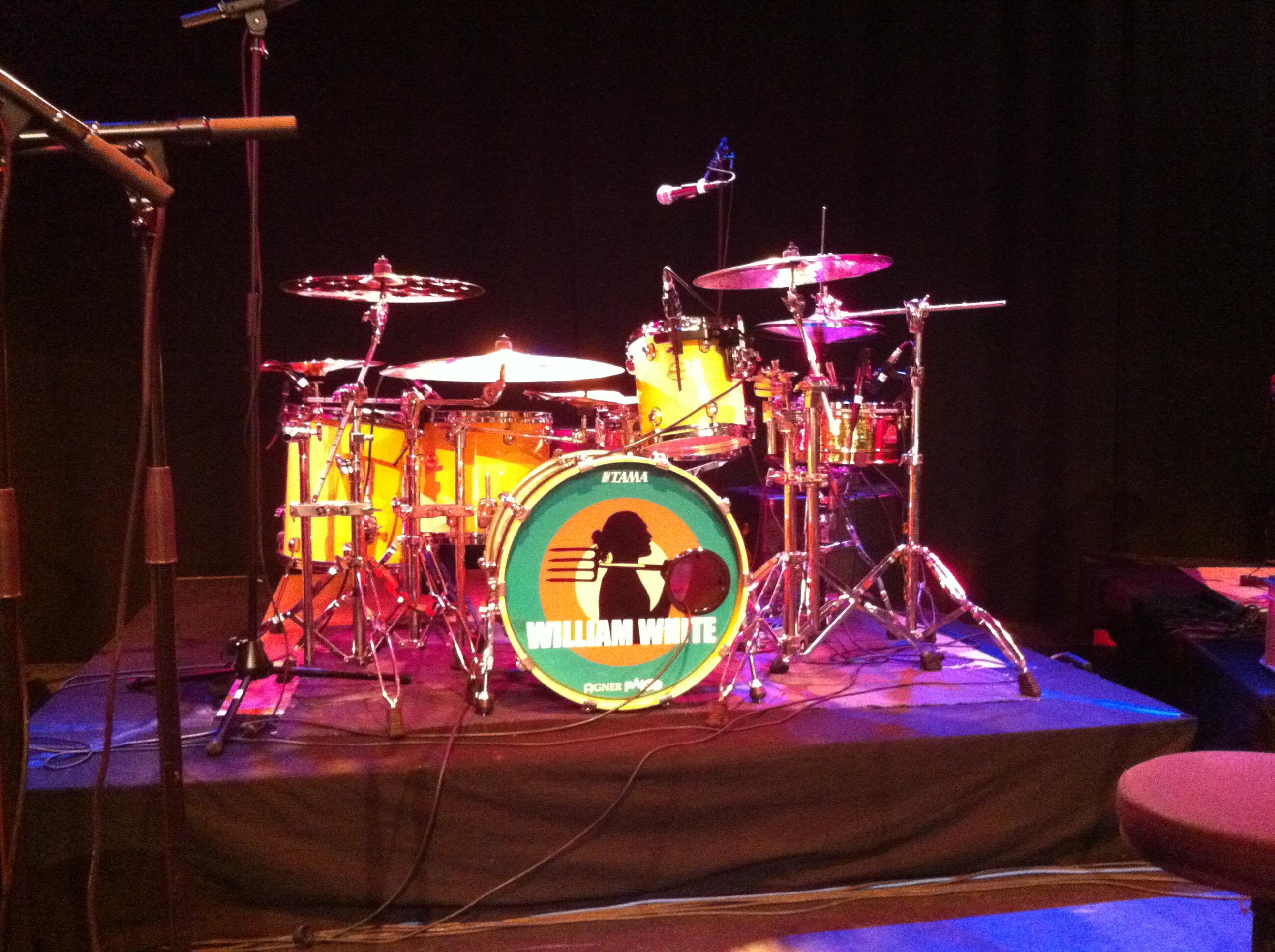 William White live-setup