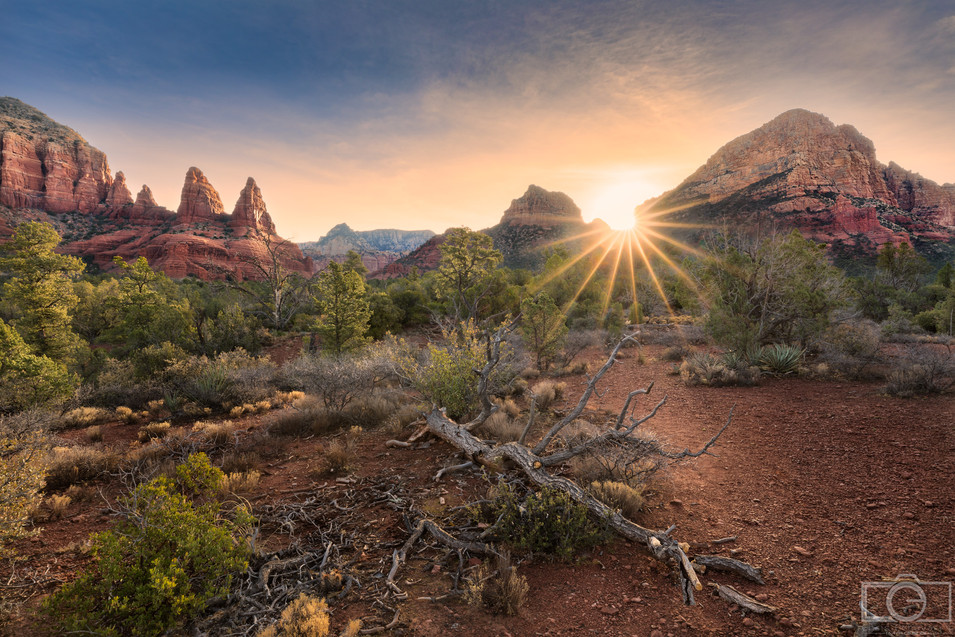 sedona sunrise wm.jpg