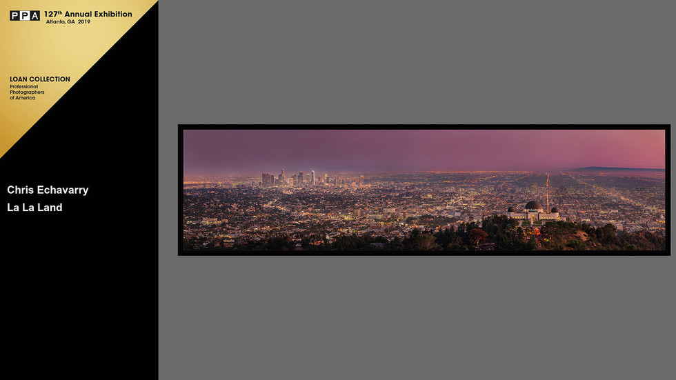 La La Land Los Angeles Panorama Griffith Observatory Downtown best view award winning image