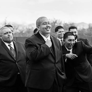 groomsmen groom wedding tucson