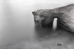 Keyhole Rock san diego high key