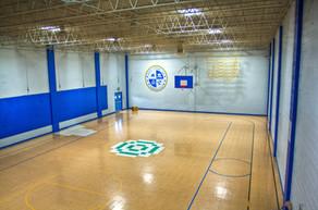 Full-size gymnasium
