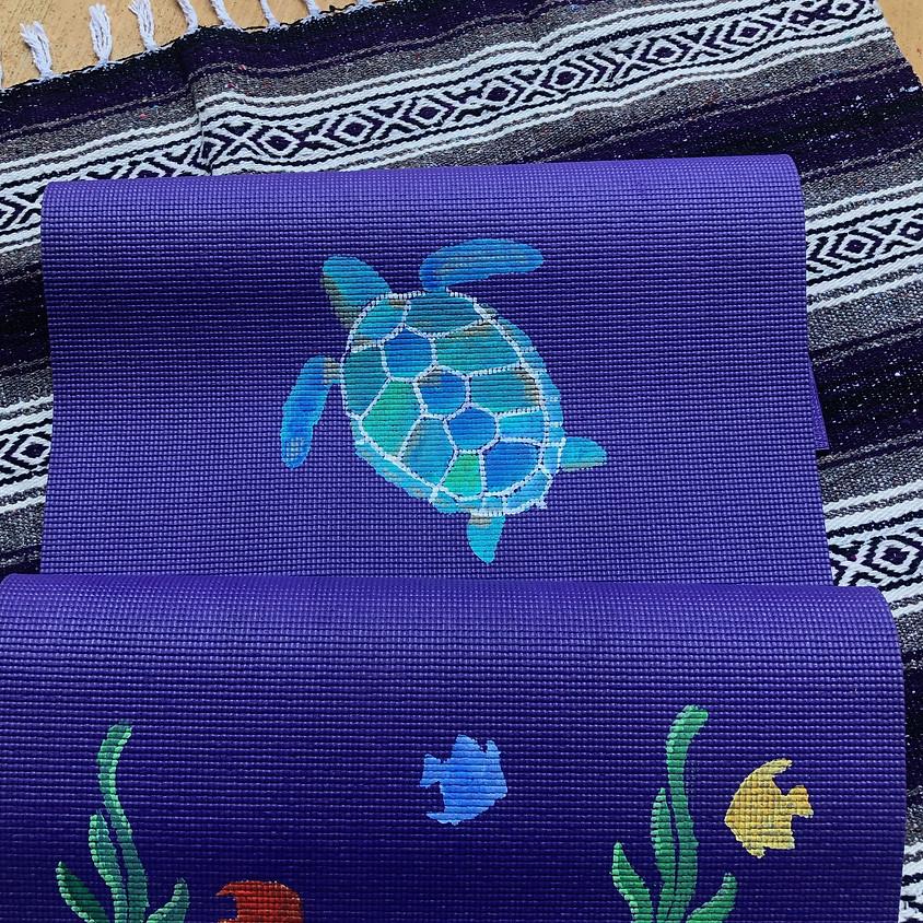 OUTDOOR - Grades 4-8 Yoga Mat Painting