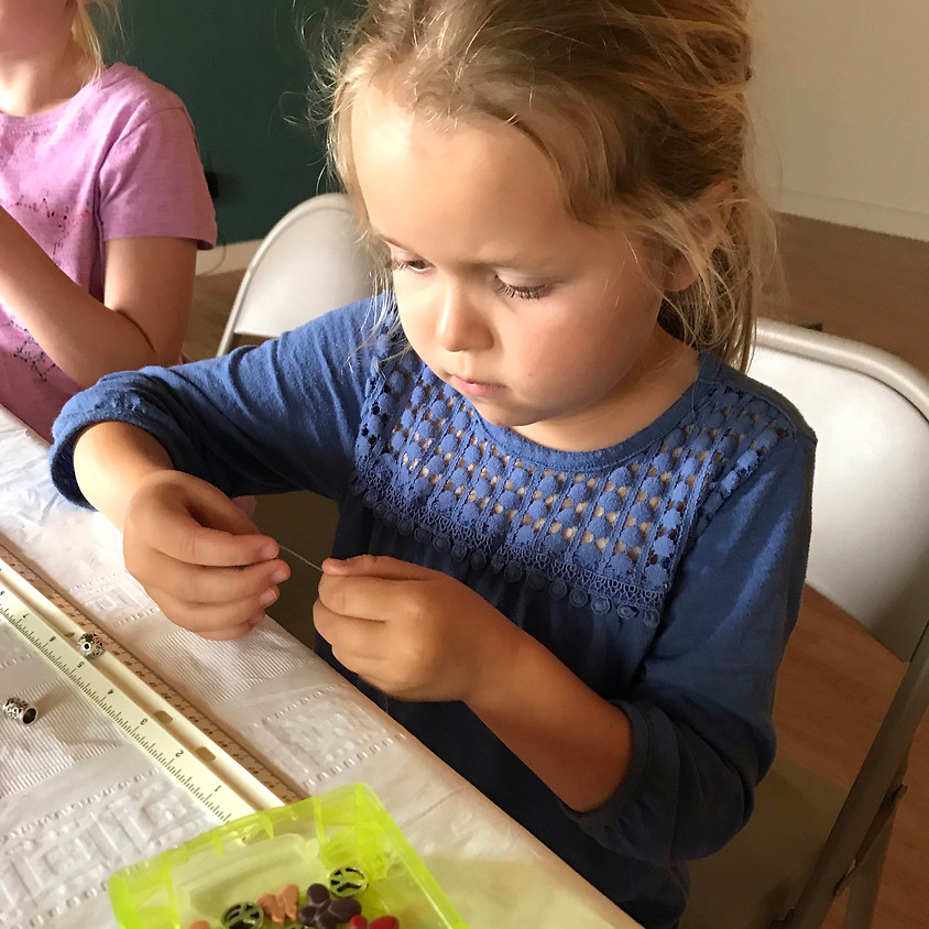 Summer Mini: Yoga + Jewelry Making #2 (Ages 7-10)