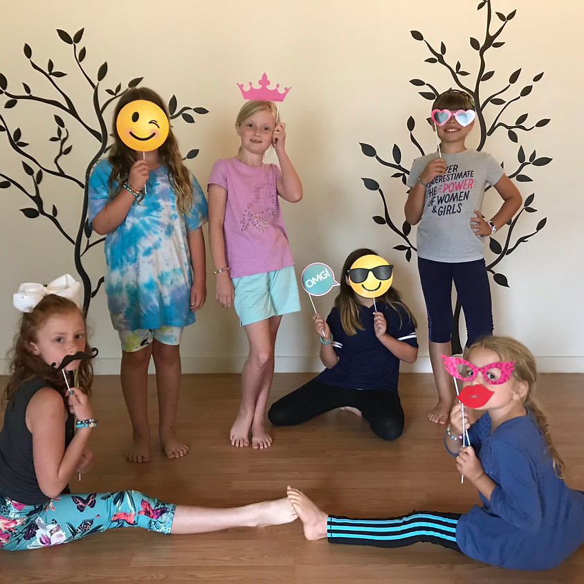 Aug 7: Young Yogis (ages 7-10) 3:30-4:30p