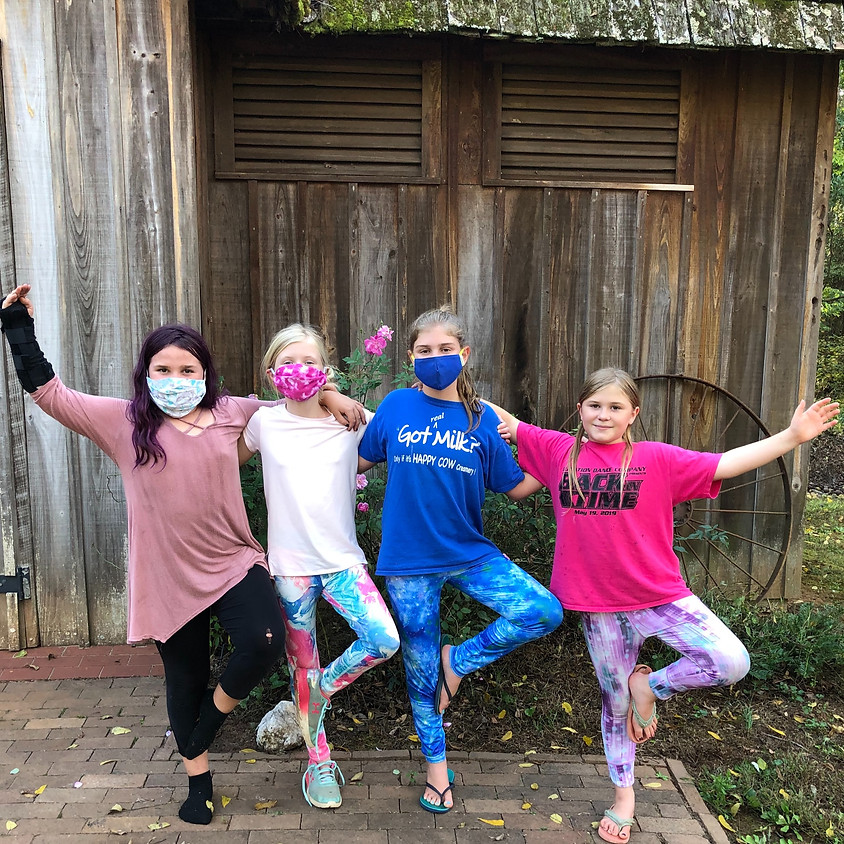 Private Group: Outdoor Yoga (Girls 10-14)  (masks not req'd)