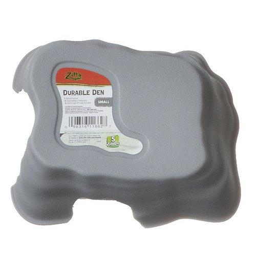 Zilla Durable Den for Reptiles - Gray or Green