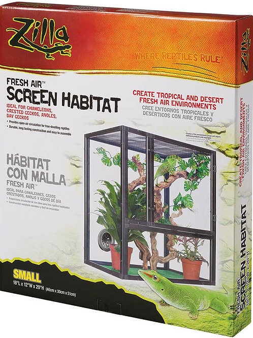 Zilla Fresh Air Screen Habitat