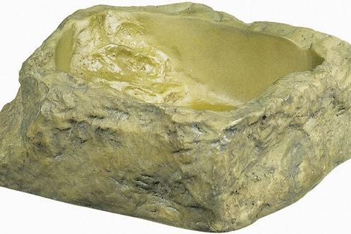 Exo-Terra Granite Rock Reptile Water Dish