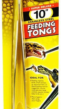 Zoo Med Feeding Tongs - Stainless Steel