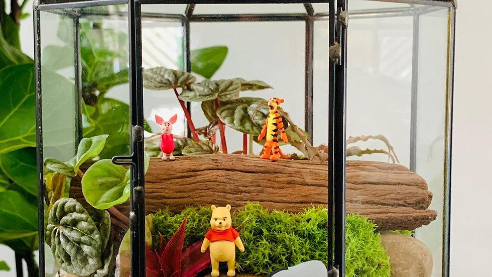 Ursinho Pooh e família