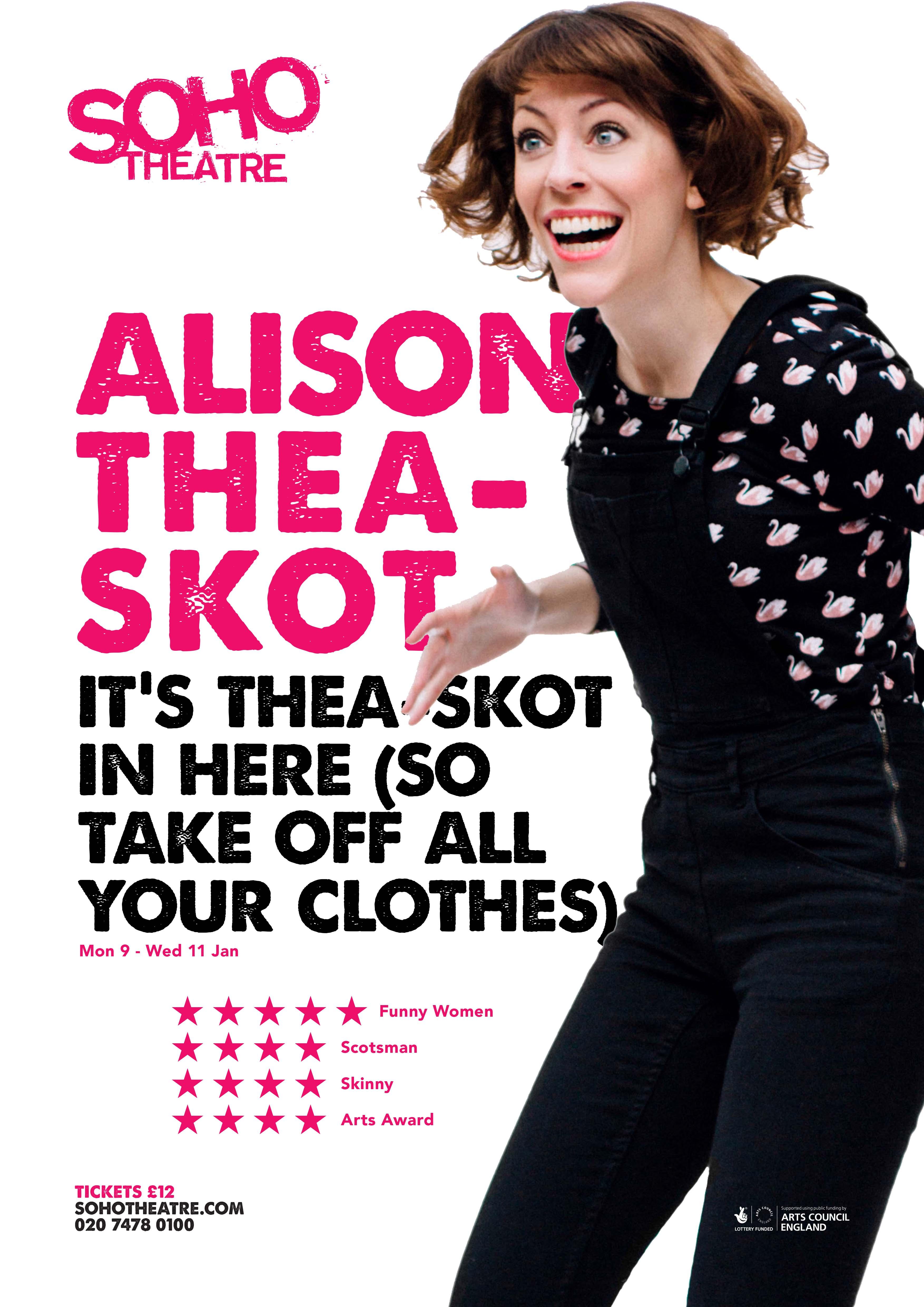 Soho Theatre Poster