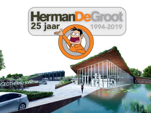 HermanDeGroot Ingenieurs viert  25-jarig bestaan met CO2-vrije energie