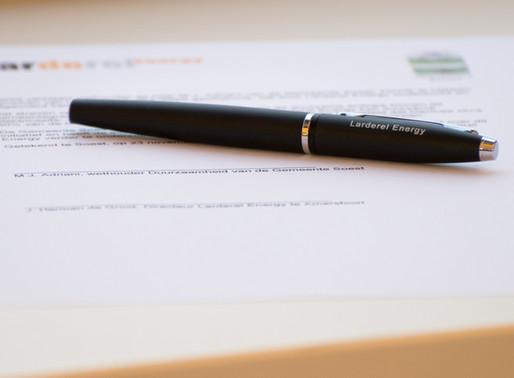 Larderel Energy ondertekent LOI met de gemeente Soest