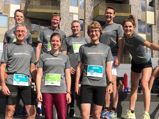 Marathon Amersfoort: een geslaagde 'thuiswedstrijd'!