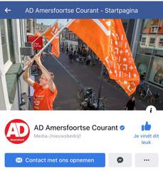 HermanDeGroot in AD Amersfoortste Courant