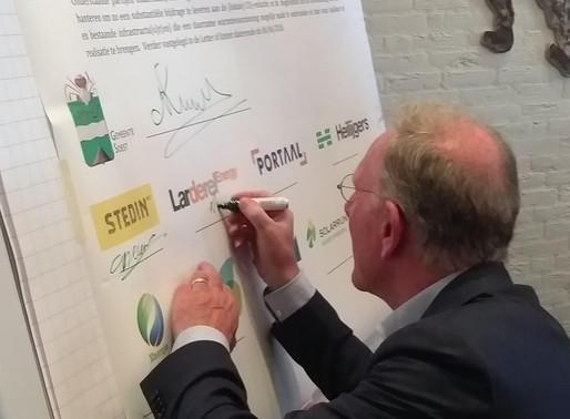 Larderel Energy ondertekent intentieverklaring duurzame warmte Soest en Soesterberg
