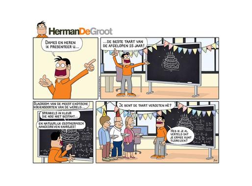 HermanDeGroot 25 jaar... maar hoe gaat dat eraan toe?