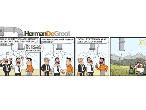 Onze nieuwste strip van DIK