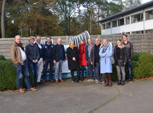 Larderel Energy bezoekt geothermiecentrale Mol, België