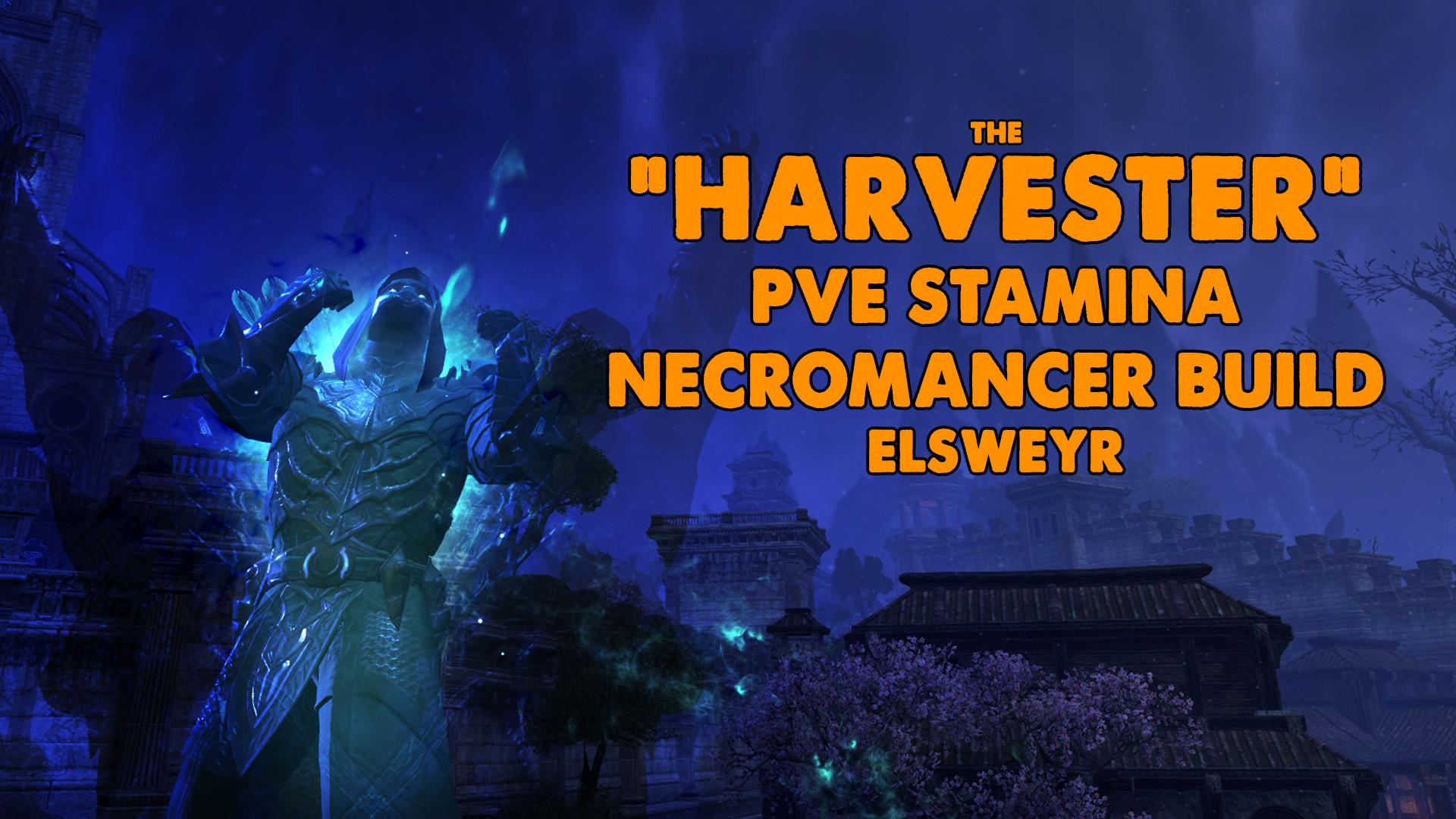 ESO | Harvester | Necromancer Build| Xynode Gaming