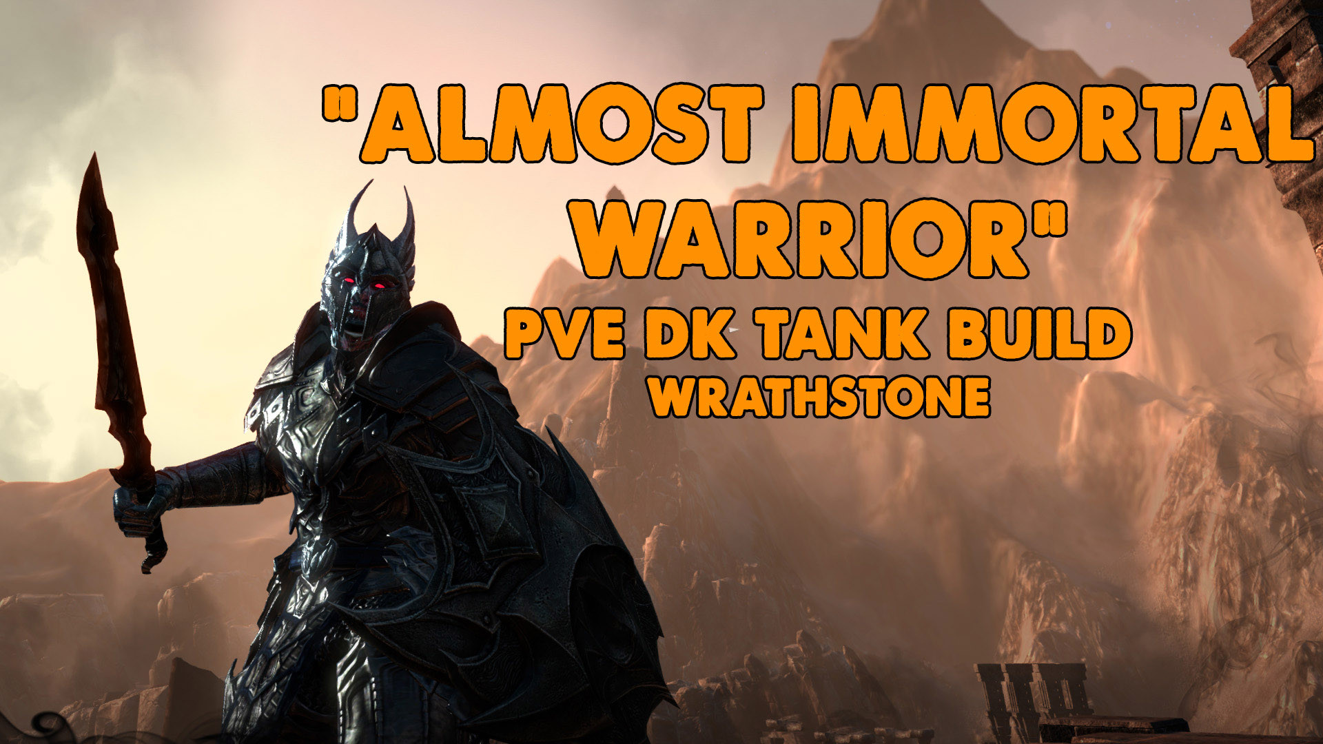 ESO | Dragonknight Tank build | Immortal Warrior | Xynode Gamin