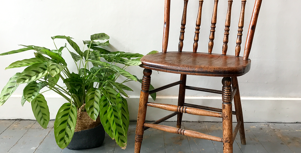 Windsor Bow Back Chair with Baulster Legs