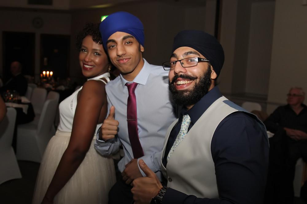 Heera enjoying himself at last years Nickel Awards 2016