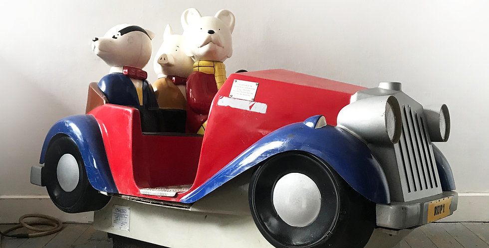 Photo Me Rupert The Bear Coin Operated Ride - Price excluding delive