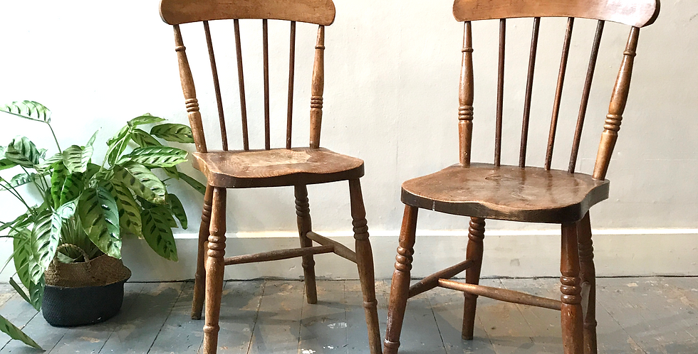 Farmhouse Wooden Chairs