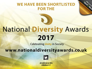 We have been shortlisted!