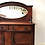 Thumbnail: Queen Anne Style Mahogany Oval Mirror Sideboard