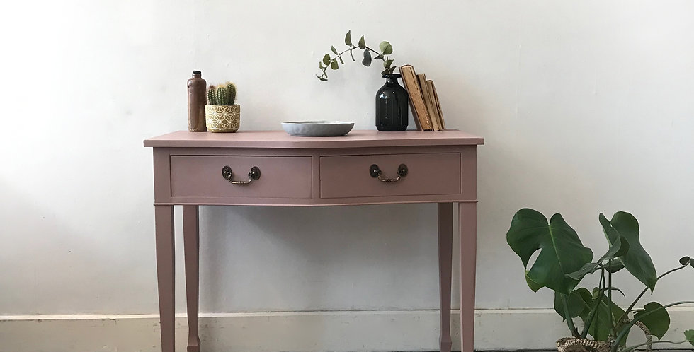 Dusty Pink Hallway Table - Price excluding delivery