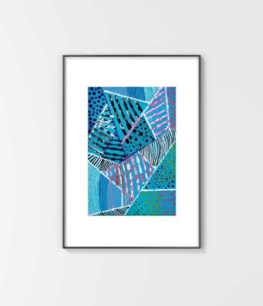 artwork, painting, print, wall art, art box