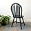 Thumbnail: Set of Upcycled Black Chairs