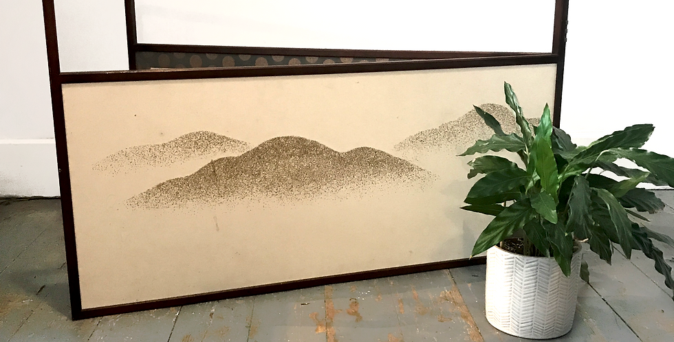 Vintage Japanese Tea Screen