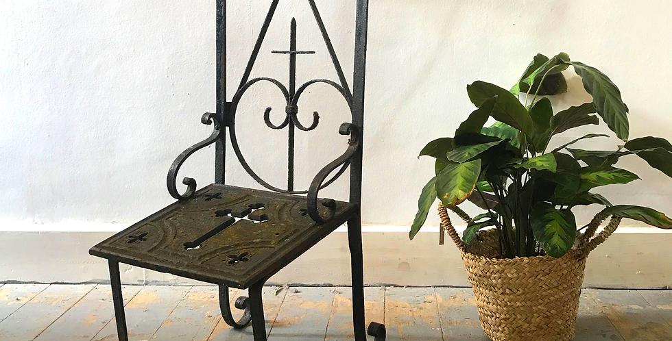 Bespoke Forged Prayer Chair