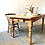 Thumbnail: Rustic Pine Farmhouse Table with Drawer