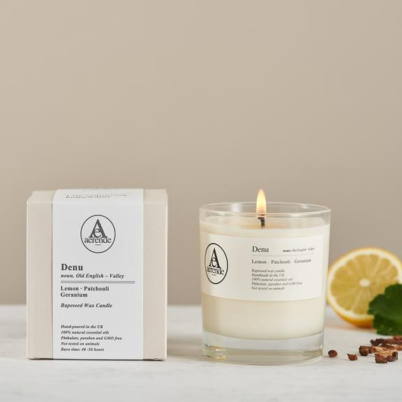 aerendes, candle, gift,