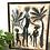Thumbnail: Framed Tribal Print