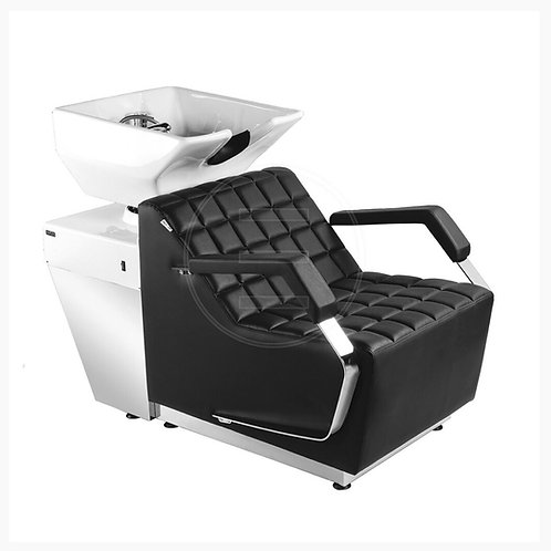 Hall Salon Wash Silver with Electric Lift leg
