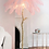 Thumbnail: Eva Ostrich Feather Floor Lamp (35 feathers) 1.65m